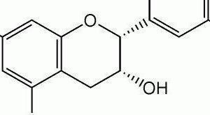 Chemische formule van een antioxidant