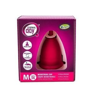 Gentleday menstruatie cup maat M