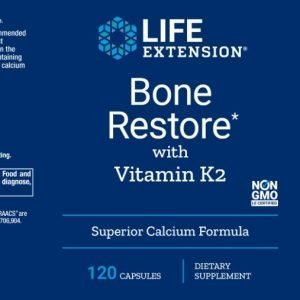 Life Extension Bone restore with K2 packaging