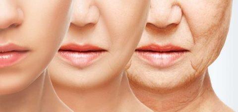 huidveroudering door de overgang