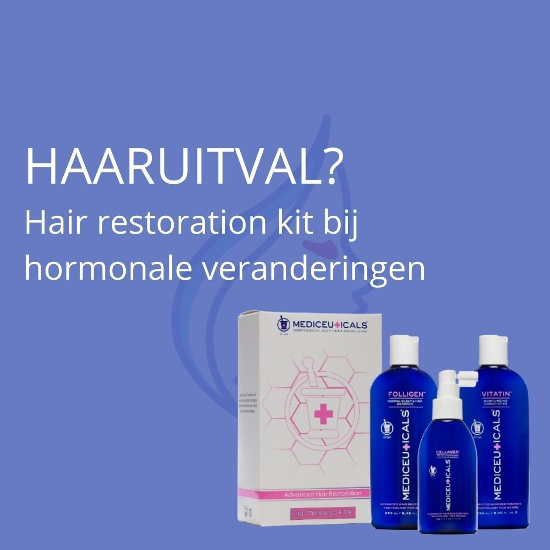 Hair restoration kit bij haaruitval
